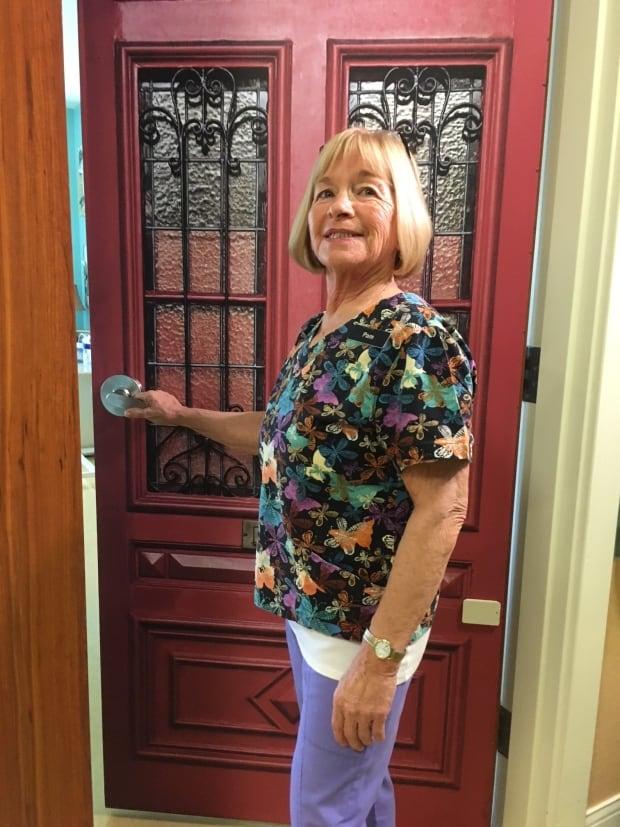 door-decals Unique door panels tell residents' stories at Stanley nursing home