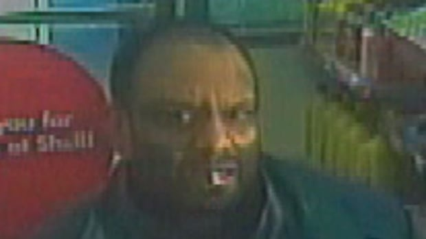 Police allege this man, who was captured on security video, entered a retail establishment in the Keele Street and Sheppard Avenue West area just after 7:30 a.m. on Nov. 11.