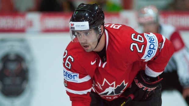 Teddy Purcell, seen wearing the colours of Team Canada from 2012, hopes to get the chance to wear the jersey again.