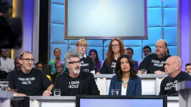 A number of the Quebec comedians banding together to create a new festival in response to the controversy surrounding Gilbert Rozon, the founder of Just For Laughs, appeared on Tout le monde en parle Sunday.