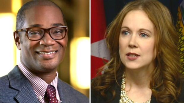 Chima Nkemdirim, chief of staff to Calgary Mayor Naheed Nenshi, and Lisa Holmes, former mayor of Morinville, have been named as possible candidates for leadership of the Alberta Party.