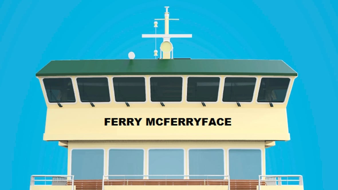 Australia rejects Boaty McBoatface as ferry name, opts for Ferry McFerryface