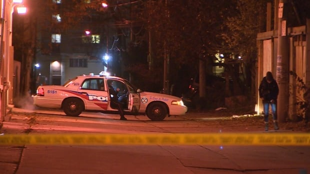 A 20-year-old man was critically injured in a shooting on Monday night near Regent Park, Toronto police say.