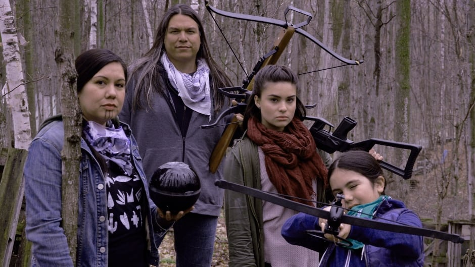Cree/Metis filmmaker Danis Goulet's latest work, The Hunt, is a virtual reality time travel to the year 2167.