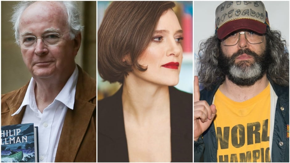 Today on q: author Philip Pullman, pop culture contributor Anne T. Donahue, author Heather O'Neill and comedian Judah Friedlander.