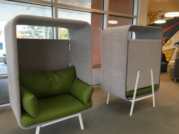 Chairs at Autism Library