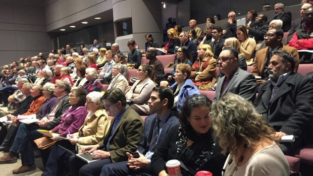 Dozens of residents have packed into Ottawa City Hall chambers for the first of three days of debate on a contentious Salvation Army facility proposed for the city's Vanier neighbourhood.