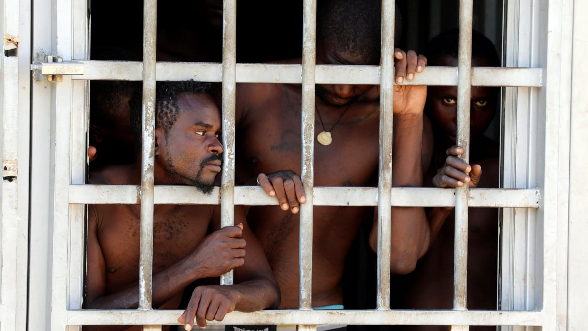 Libya teems with 'inhuman' migrant camps, UN says, as Italy sees fewer refugees