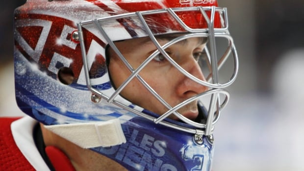 Montreal Canadiens goalie Carey Price says he's taking time to properly heal from what the team is calling a lower-body injury.