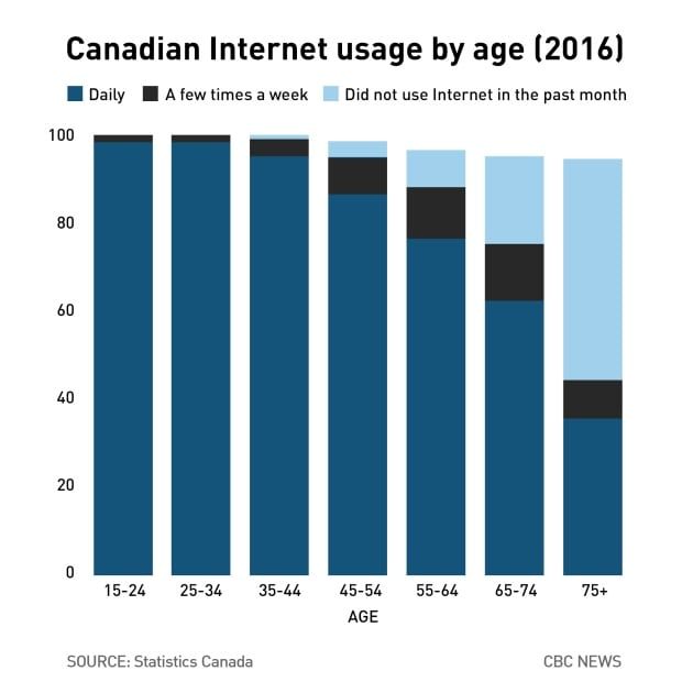 internet by age