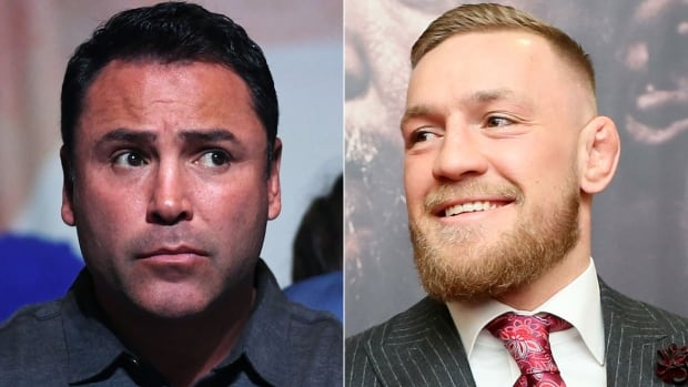 After Oscar De La Hoya, left, called him out, could Conor McGregor be in for another high-profile boxing match?