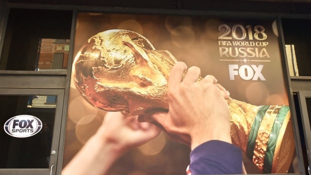 Fox Sports, which will broadcast next year's FIFA World Cup, has been accused in court of taking part in a bribery scheme in order to soccer broadcast rights.