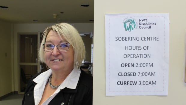 Denise McKee, executive director of the NWT Disabilities Council, says the new temporary location for the city's sobering centre is 'excellent.'