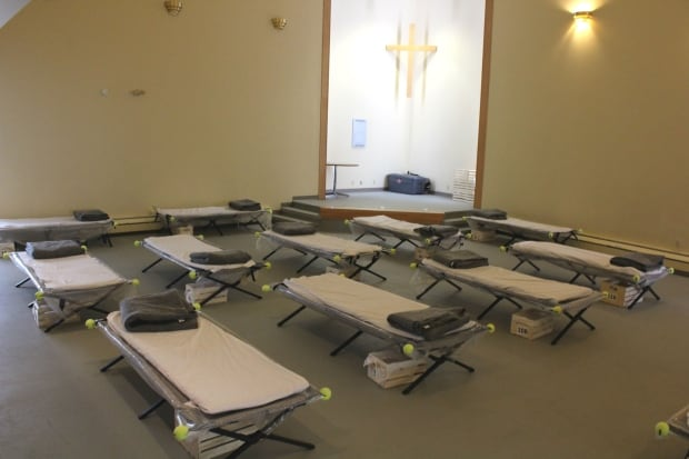 Mens cots at sobering centre yellowknife