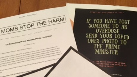 Families of overdose victims plan to flood Prime Minister Trudeau's mailbox with photos, letters