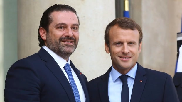 Lebanese president hopes Hariri visit to France will end crisis