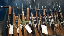 Firearms collected by WRP