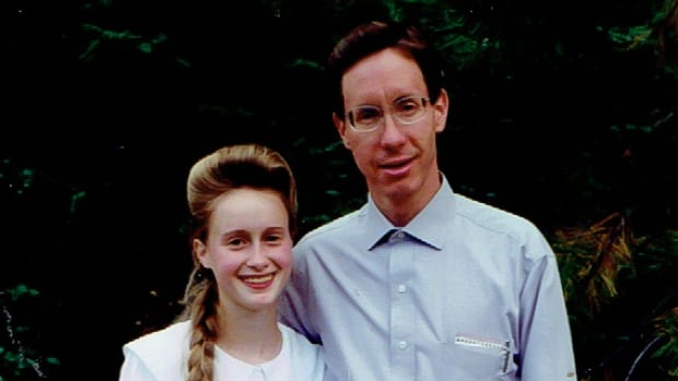 Rachel with her father Warren Jeffs