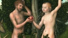 Adam & Eve painting by Lucas Cranach the Elder