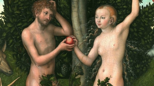 Adam & Eve painting by Lucas Cranach the Elder
