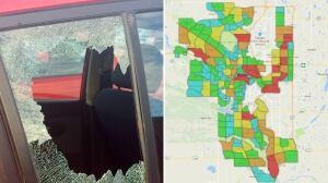 Vehicle Break Ins Calgary Map