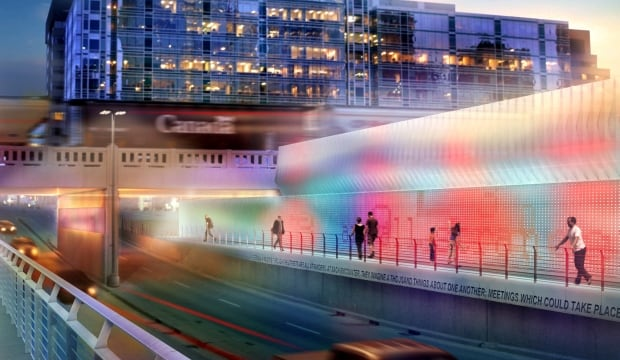 Fourth Street Underpass rendering