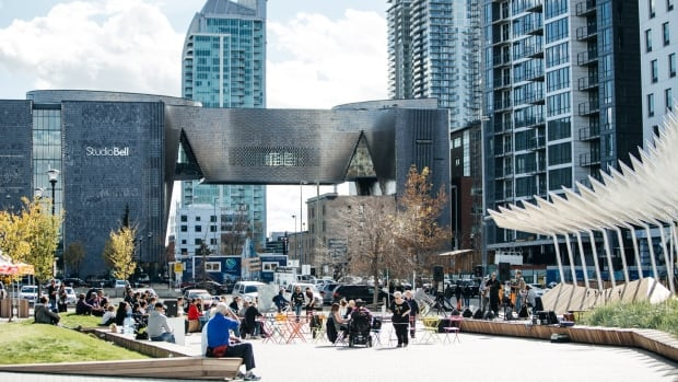 The uniquely shaped Studio Bell in Calgary's East Village won the people's choice award for favourite building at the 2017 Mayor's Urban Design Awards. It's the home of the National Music Centre.