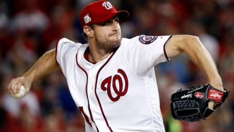 Nats' Scherzer wins 3rd Cy Young, Indians' Kluber his 2nd