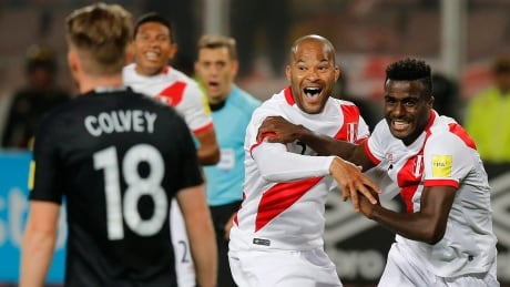 World Cup qualifying: Peru tops New Zealand to take last spot