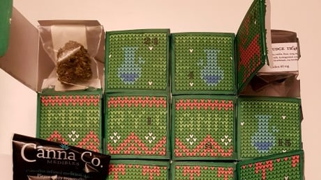 Pot and edible filled advent calendar illegal but police unlikely to crack down