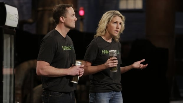Rory and Tracy Bell, the owners of Saint John-based Millennia Tea, struck a winning deal on CBC's Dragon's Den on Thursday night.