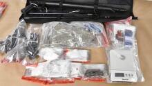 London police drug seizure