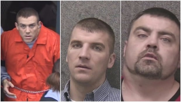 Calvin Kenny, Gary Hennessey, Ronald Fitzgerald are three of the men who have been charged with assault causing bodily harm in the beating of Al Potter.