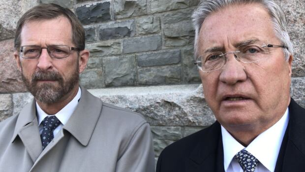 Danny Williams, right, and his lawyer Jerome Kennedy will have to wait until December to have their day in court.