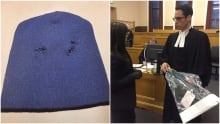 Mask and shotgun at Brandon Phillips trial