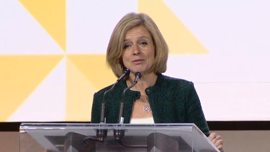 Alberta Premier Rachel Notley.