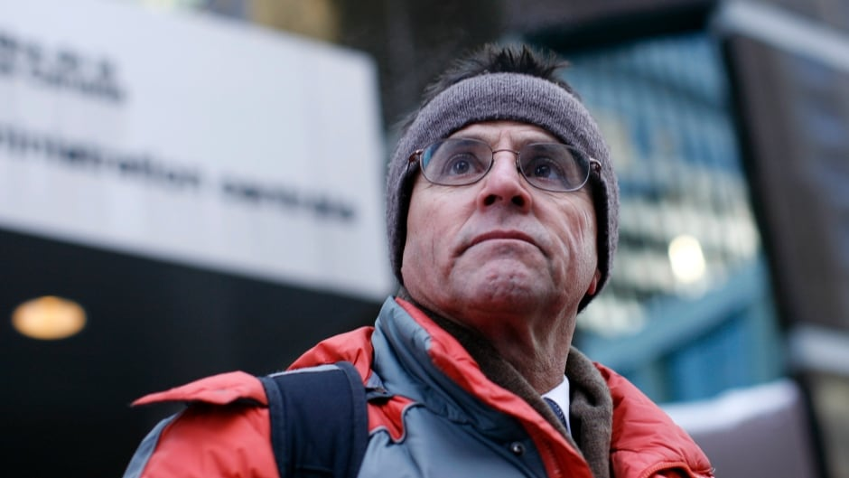 Hassan Diab attends an Ottawa rally calling on the Canadian government not to extradite him, Jan. 20, 2012.
