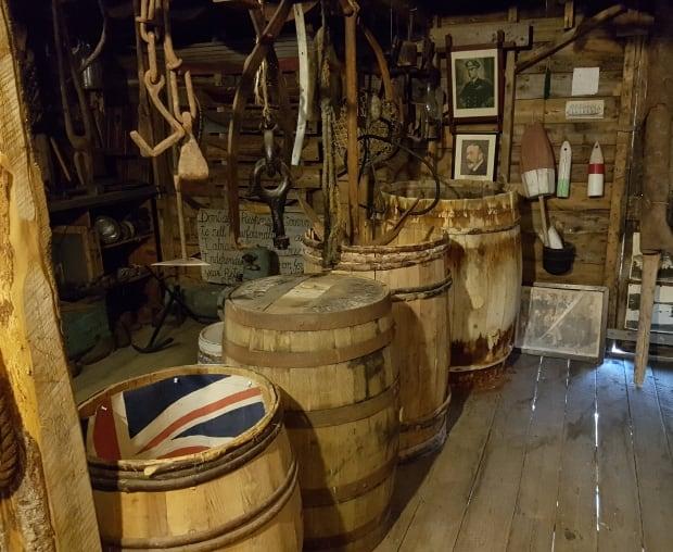 Inside the Springdale Museum