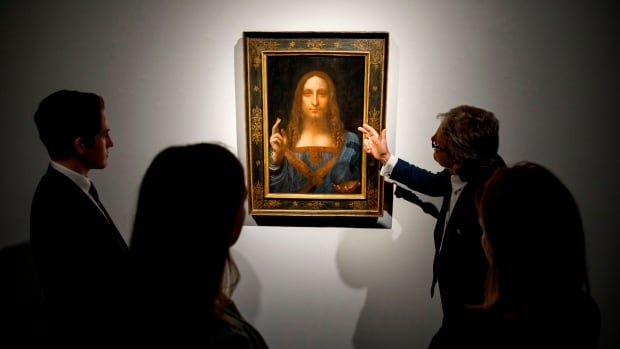 Leonardo da Vinci painting smashes auction record at $450 million