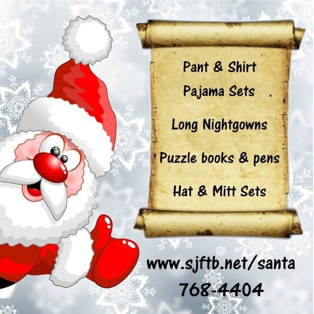 St. Joseph's Be Their Secret Santa