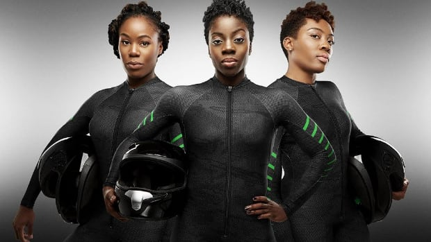 Nigerian women's bobsled team make Winter Olympic history
