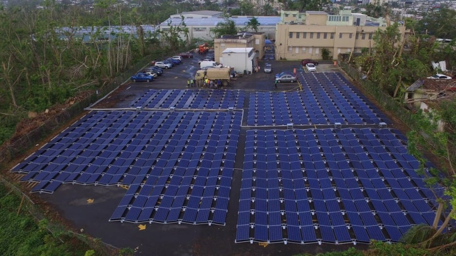 Tesla, the electric car company founded by serial entrepreneur Elon Musk, stepped in to bring power back to the Hospital del Niño in San Juan using the company's solar panels and battery technology.