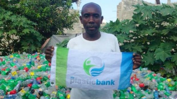 Plastic Bank is turning recovered ocean plastic into currency in developing countries.