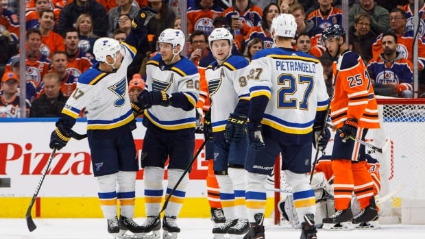 Schenn scores twice, has assist to help Blues beat Oilers