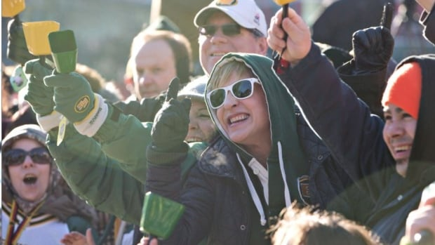 Edmonton Eskimos' fans are hoping the team's winning momentum continues this weekend.