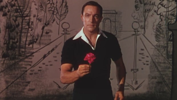 Gene Kelly taps his way through Paris in the MGM musical classic An American in Paris.