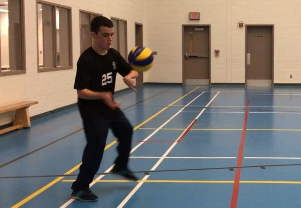 Brett Smith volleyball