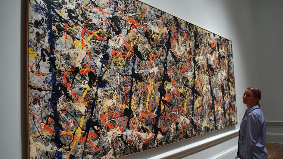 The more strongly research subjects said they saw patterns in abstract paintings like this Jackson Pollock one, the more likely they were to also believe in conspiracy theories.