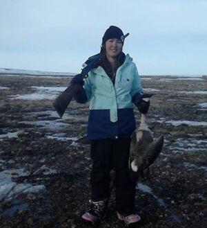 Pamela Nakashook goose