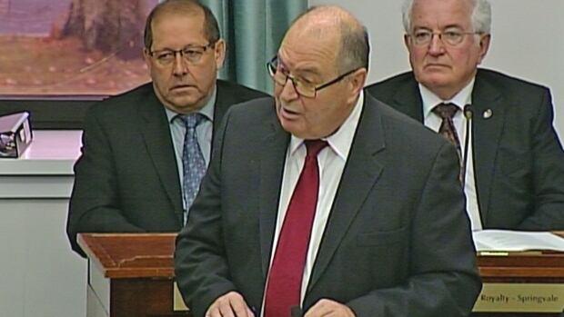 P.E.I. Finance Minister Allen Roach